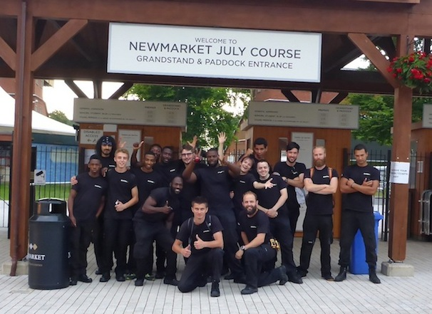 Newmarket July Course Team