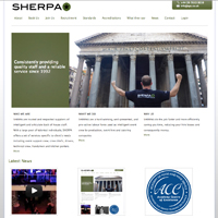 New SHERPA website launched!